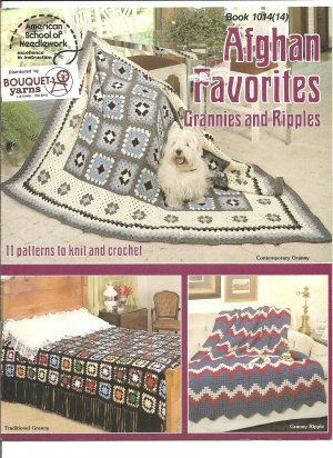 Afghan Pattern Favorites Grannies and Ripples Crochet and Knitting Patterns