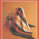 Quick Quick Crochet Afghan, Pillow and Rug Pattern Circa 1973