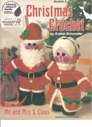 Christmas Crochet Mr and Mrs. S Claus Crochet Patterns