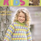 Kaleidoscope Kids 14 Colorful Children's Sweater Knitting Patterns, Leisure Arts 3260