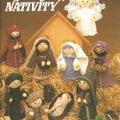 Knit Nativity, Knitting Pattern Leisure Arts Leaflet 305