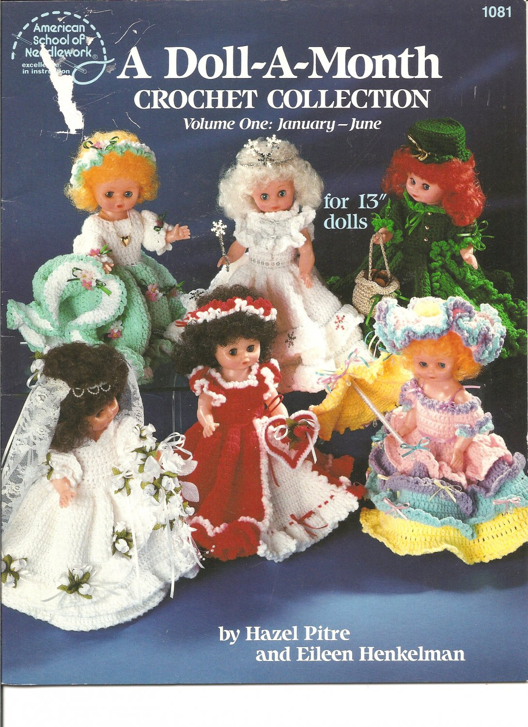 A Doll A Month Crochet Doll Clothes Collection For 13 Inch