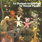 Finger Puppets Crochet Pattern, 12 Designs by Leisure Arts 435