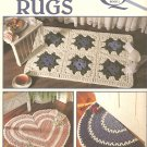 Rugs, Throw Rugs Crochet Patterns, Leisure Arts 2608