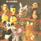 More Critters to Crochet, Crochet Toy Patterns by Leisure Arts 167