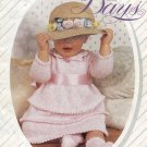 Peter Pan Lacy Days Baby Knitting Patterns