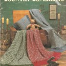 Country Coverlets Lap Weaving Afghan Patterns, Leisure Arts 293