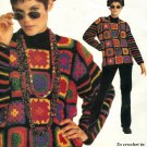 Patons , Granny Goes Wild, Granny Square Crochet Clothing Patterns