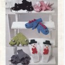 Patons Novelty Mittens Knitting Patterns , sizes 1 to 8 years old
