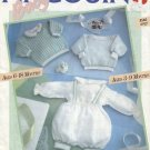 Pingouin Baby Knitting Patterns , Leaflet 8560