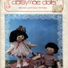Daisymae Dolls , Dottie and Dan 14 Inch Doll Patterns
