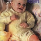 Baby Knitting Patterns, Beehive Tiny Toppers  #477