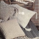 Cushion Knitting Patterns, Beehive 422