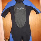 Women's Size 9-10 BodyGlove Method Spring Wetsuit in Black and Dark Blue
