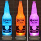 Corona Beer Big 24oz Color Changing LED Remote Control Bottle Lamp Bar Light
