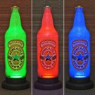 New Castle Brown Ale Remote Control LED Color Changing Bottle Lamp Bar Light