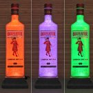 Beefeater London Gin Remote Control Color Changing LED Bottle Lamp Light Bar