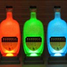 Barrell Bourbon Color Changing Remote Control Bottle Lamp Bar Accent Light Pub