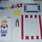 4th of July Boy-MMI-Retired HTF-Scrapbook set