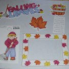 Falling Leaves-MMI-Retired HTF-Scrapbook set