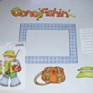 Gone Fishing-MMI-Retired HTF-Scrapbook set