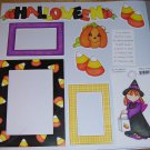 Halloween Witch-MMI-Retired HTF-Scrapbook set