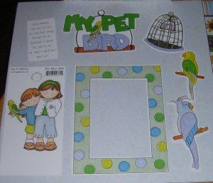 My Pet Bird-MMI-Retired HTF-Scrapbook set