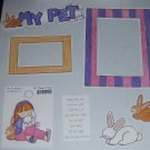 My Pet Rabbit-MMI-Retired HTF-Scrapbook set
