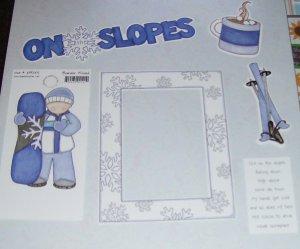 On The Slopes-MMI-Retired HTF-Scrapbook set