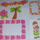 Paradise Boy-MMI-Retired HTF-Scrapbook set