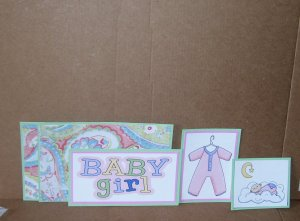 Baby Girl-5pc Mat Set