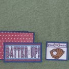 Batter Up Boy-5pc Mat Set