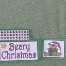Beary Christmas-Bear w/tree-5pc Mat Set