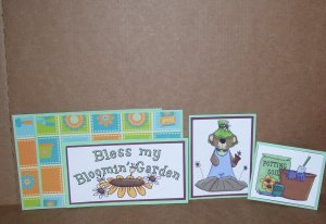 Bless My Bloomin Garden-5pc Mat Set
