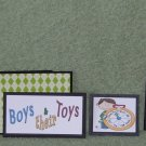 Boys & Their Toys-5pc Mat Set