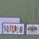 Easter-5pc Mat Set