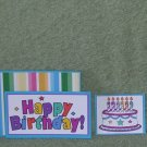 Happy Birthday-5pc Mat Set