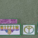 Hippie-5pc Mat Set