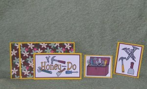 Honey Do 2-5pc Mat Set