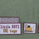 Little Boys Big Toys-5pc Mat Set