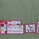 Merry Christmas Country-5pc Mat Set
