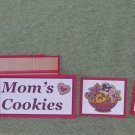 Mom's Cookies-5pc Mat Set