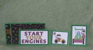 Start Your Engines-5pc Mat Set