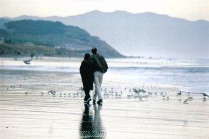 Stroll on the beach