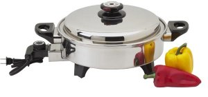KTOILCORE - Precise Heat 3.5qt Surgical Stainless Steel Oil Core Skillet