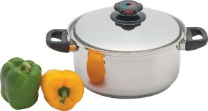 KTSPDO55 - Precise Heat 5.5qt Stockpot with Vented Lid