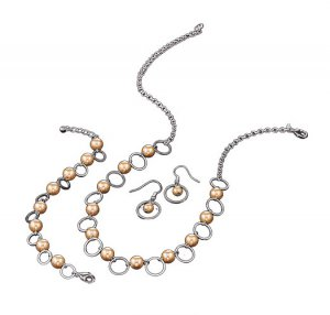 Pearlesque Open Link 3-Piece Faux Pearl Jewelry Set - Avon