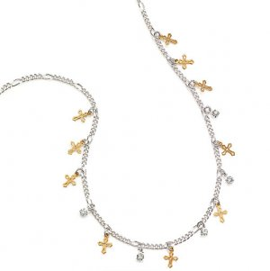 Embellished Cross Necklace - Avon