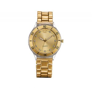 Goldtone Link Watch - Avon