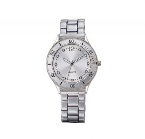 Silvertone Link Watch - Avon